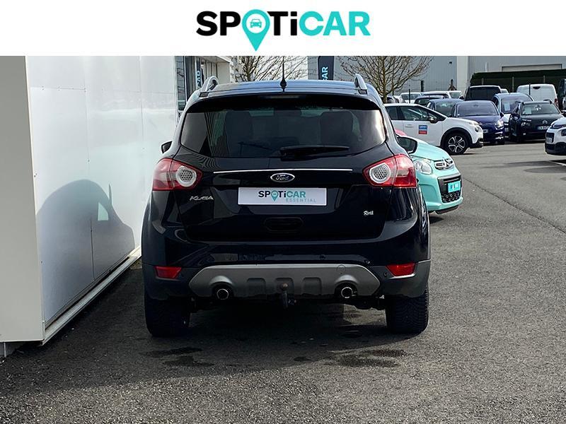 Ford Kuga 2.0 TDCi 140ch FAP Trend 4x2 Noir occasion à Lescar - photo n°4