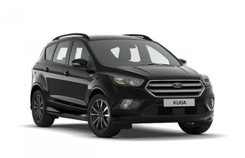 Ford Kuga 2.0 TDCi 150ch Stop&Start ST-Line 4x2 Euro6.2 Noir occasion à VILLE LA GRAND