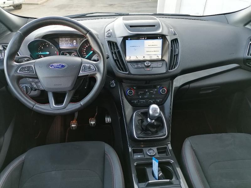 Ford Kuga 2.0 TDCi 150ch Stop&Start ST-Line 4x2 Blanc occasion à Varennes-Vauzelles - photo n°8