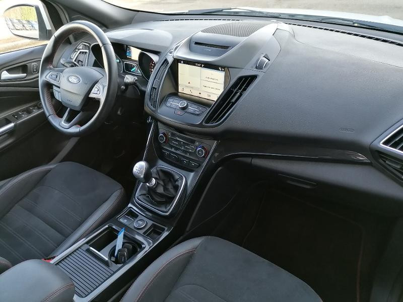Ford Kuga 2.0 TDCi 150ch Stop&Start ST-Line 4x2 Blanc occasion à Varennes-Vauzelles - photo n°7