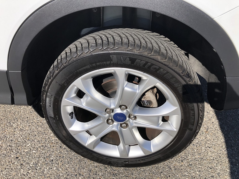 Ford Kuga 2.0 TDCI 150CH STOP&START TITANIUM 4X2 Blanc occasion à TOULOUSE - photo n°19