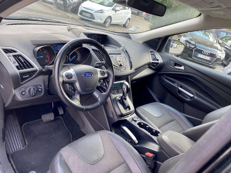 Ford Kuga 2.0 TDCi 150ch Stop&Start Titanium Business 4x4 Powershift Noir occasion à Castelmaurou - photo n°3