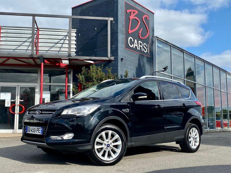 Ford Kuga 2.0 TDCi 150ch Stop&Start Titanium Business 4x4 Powershift Noir occasion à Castelmaurou