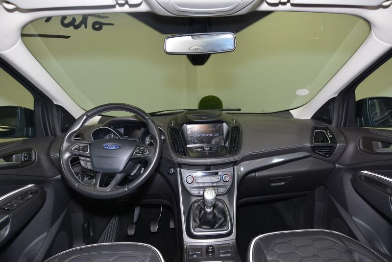 Ford Kuga 2.0 TDCI 150CH STOP&START VIGNALE 4X2 Noir occasion à Quimper - photo n°5