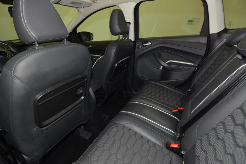 Ford Kuga 2.0 TDCI 150CH STOP&START VIGNALE 4X2 Noir occasion à Quimper - photo n°4