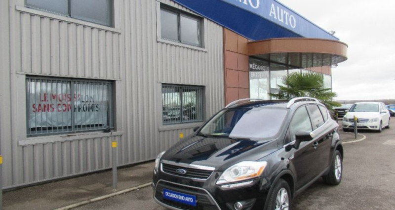 Ford Kuga 2.0 TDCi 163 DPF 4x4 Titanium Noir occasion à Saint Parres Aux Tertres