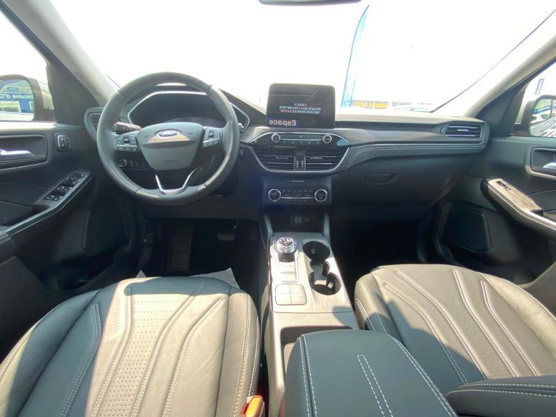 Ford Kuga 2.5 Duratec 225ch PowerSplit PHEV Vignale e-CVT 8cv Gris occasion à Barberey-Saint-Sulpice - photo n°7