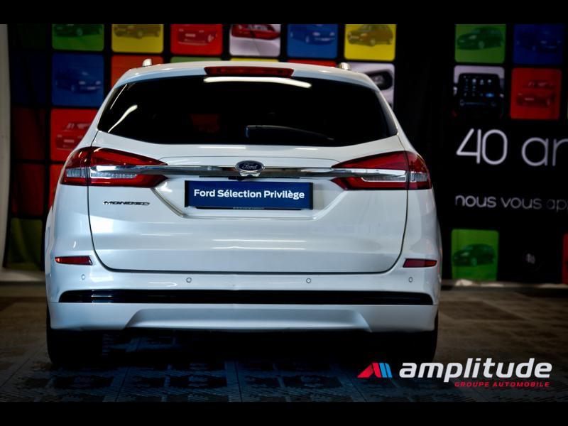 Ford Mondeo SW 2.0 HYBRID 187ch Titanium BVA Blanc occasion à Dijon - photo n°5