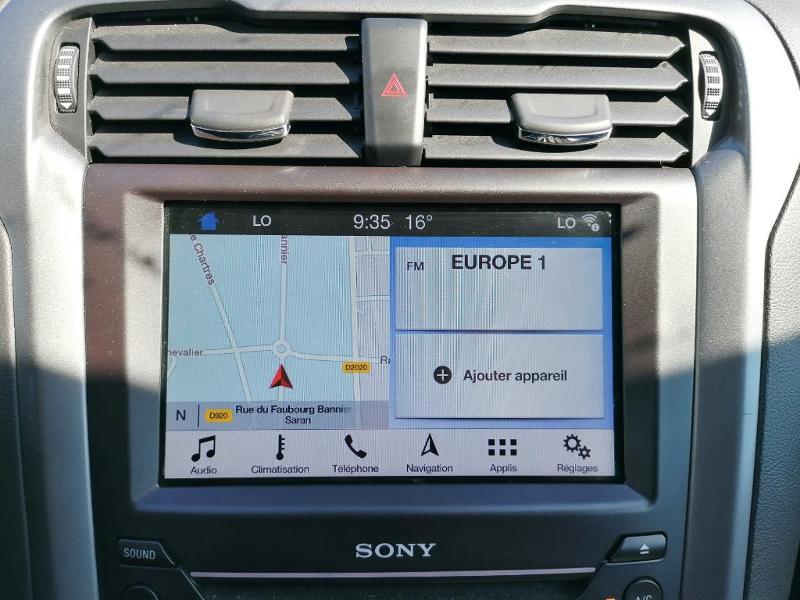 Ford Mondeo 2.0 TDCi 150ch Titanium PowerShift 5p Euro6.2 Blanc occasion à Fleury-les-Aubrais - photo n°8