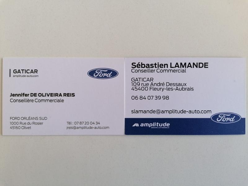 Ford Mondeo 2.0 TDCi 150ch Titanium PowerShift 5p Euro6.2 Blanc occasion à Fleury-les-Aubrais - photo n°20