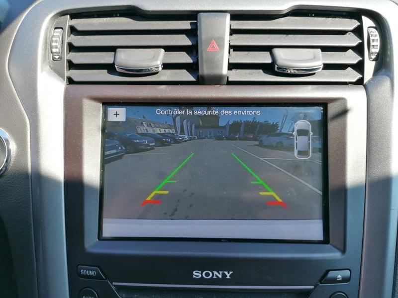 Ford Mondeo 2.0 TDCi 150ch Titanium PowerShift 5p Euro6.2 Blanc occasion à Fleury-les-Aubrais - photo n°18