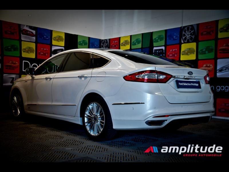 Ford Mondeo 2.0 TDCi 180ch Vignale i-AWD PowerShift 5p Euro6.2 Blanc occasion à Dijon - photo n°4