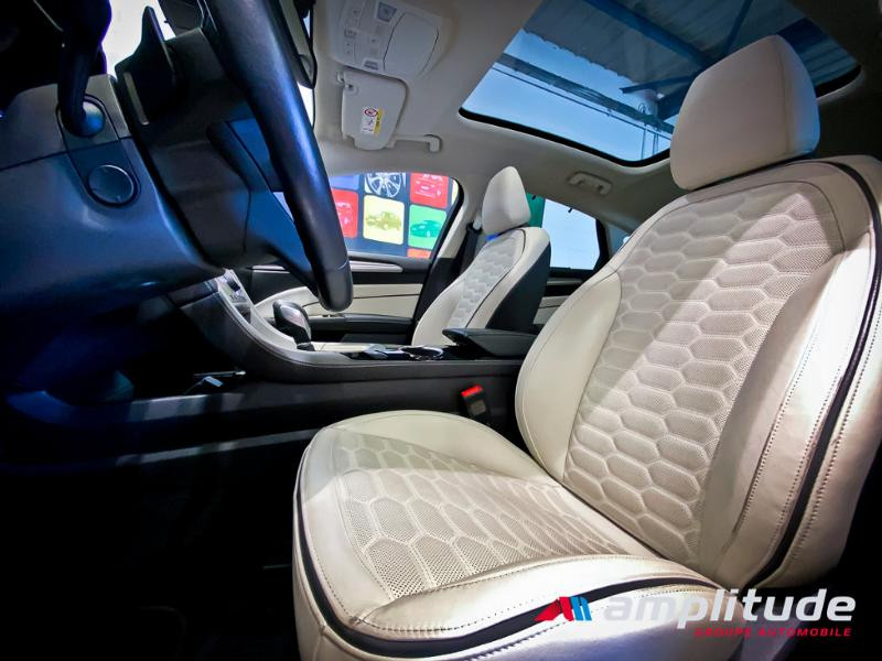 Ford Mondeo 2.0 TDCi 180ch Vignale i-AWD PowerShift 5p Euro6.2 Blanc occasion à Dijon - photo n°20