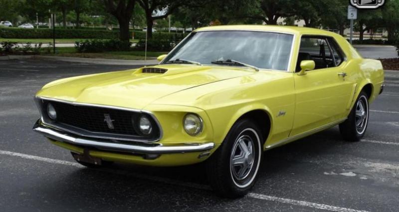 Ford Mustang 1969 prix tout compris Jaune occasion à PONTAULT COMBAULT