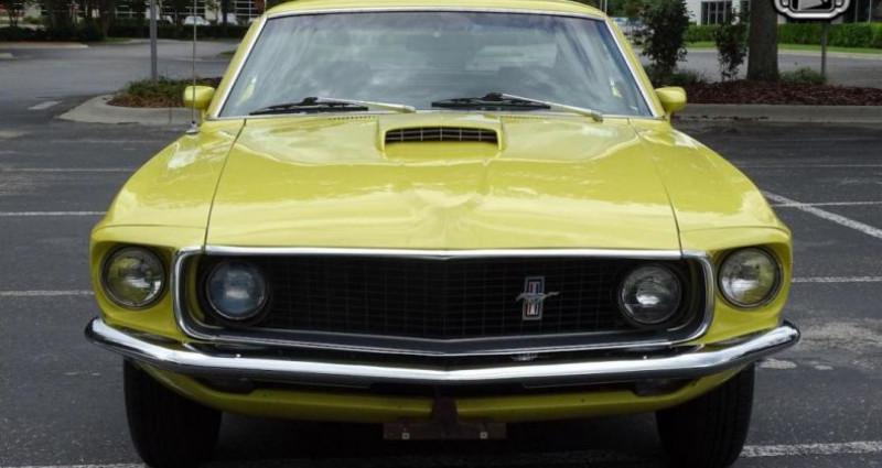 Ford Mustang 1969 prix tout compris Jaune occasion à PONTAULT COMBAULT - photo n°2