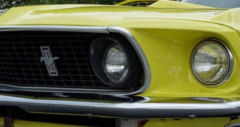 Ford Mustang 1969 prix tout compris Jaune occasion à PONTAULT COMBAULT - photo n°7