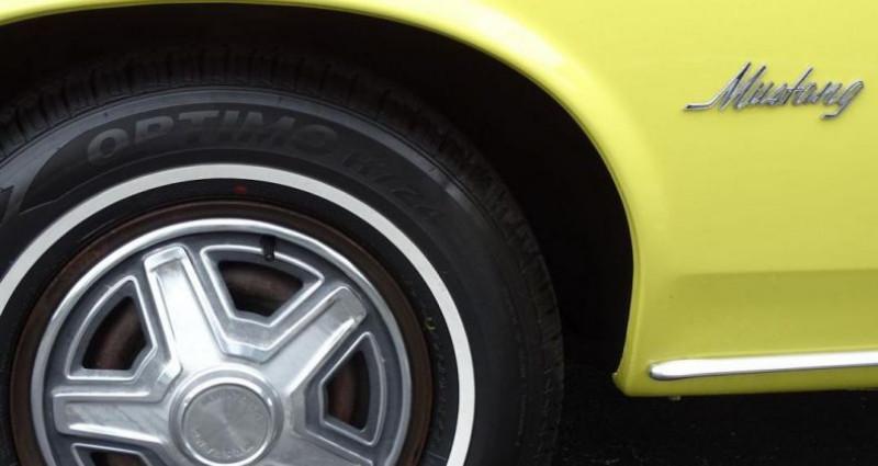 Ford Mustang 1969 prix tout compris Jaune occasion à PONTAULT COMBAULT - photo n°6