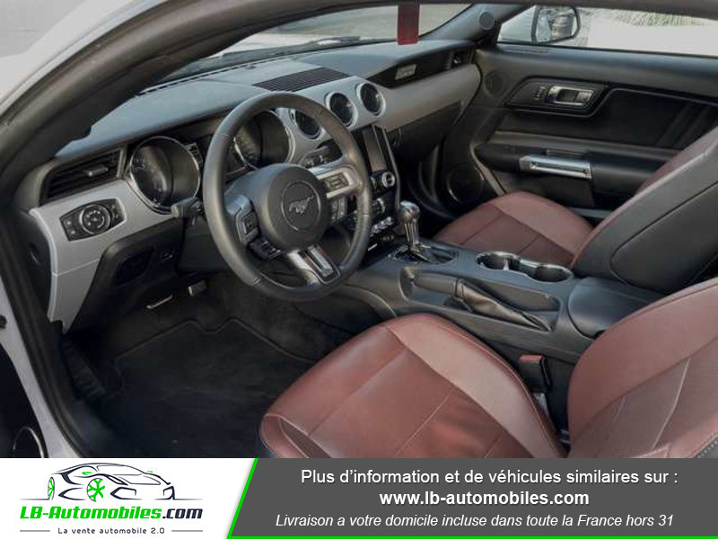 Ford Mustang 2.3 EcoBoost A Blanc occasion à Beaupuy - photo n°2