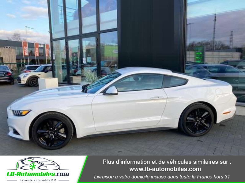 Ford Mustang 2.3 EcoBoost A Blanc occasion à Beaupuy - photo n°7