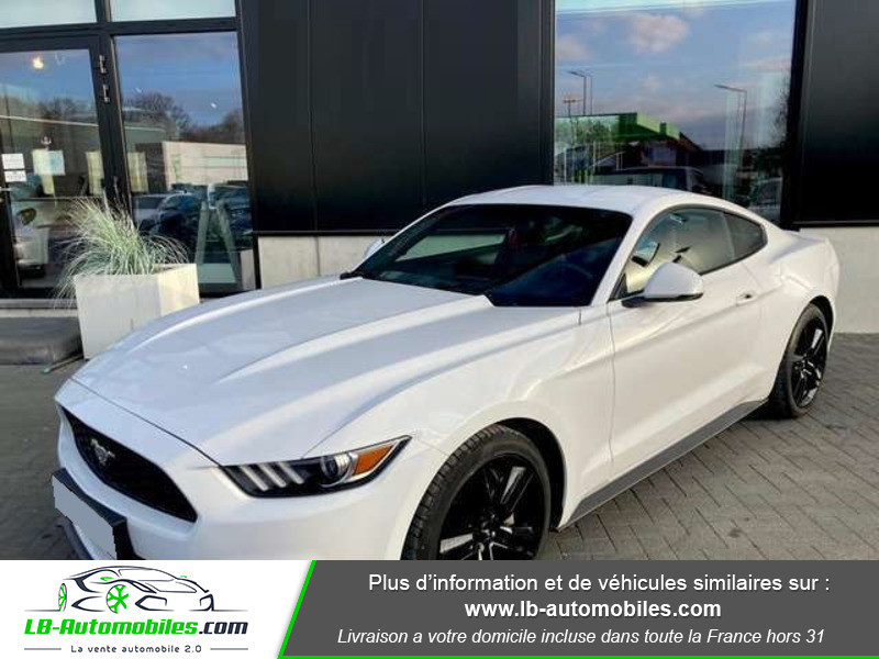 Ford Mustang 2.3 EcoBoost A Blanc occasion à Beaupuy