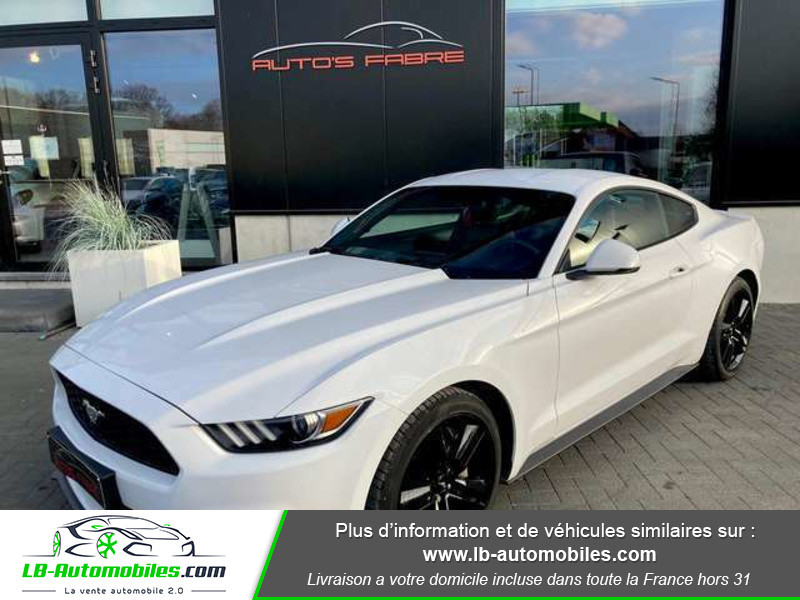 Ford Mustang 2.3 EcoBoost A Blanc occasion à Beaupuy - photo n°9
