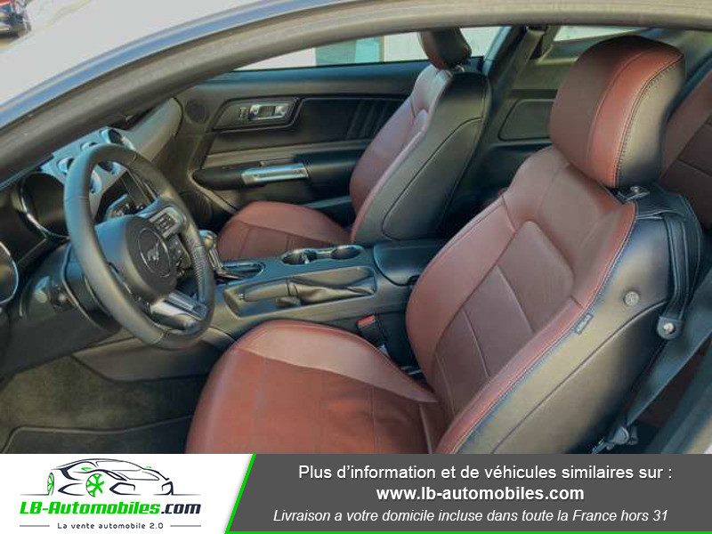 Ford Mustang 2.3 EcoBoost A Blanc occasion à Beaupuy - photo n°4