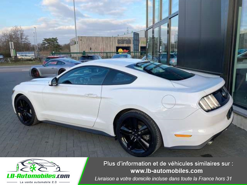 Ford Mustang 2.3 EcoBoost A Blanc occasion à Beaupuy - photo n°3