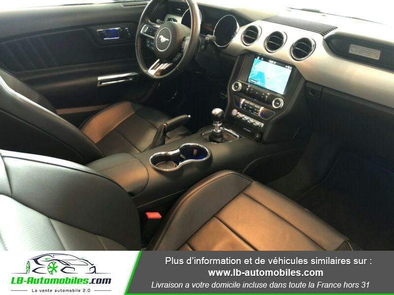 Ford Mustang 2.3 EcoBoost Blanc occasion à Beaupuy - photo n°2