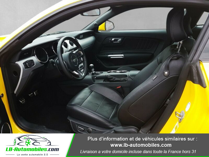 Ford Mustang 2.3 EcoBoost Jaune occasion à Beaupuy - photo n°8