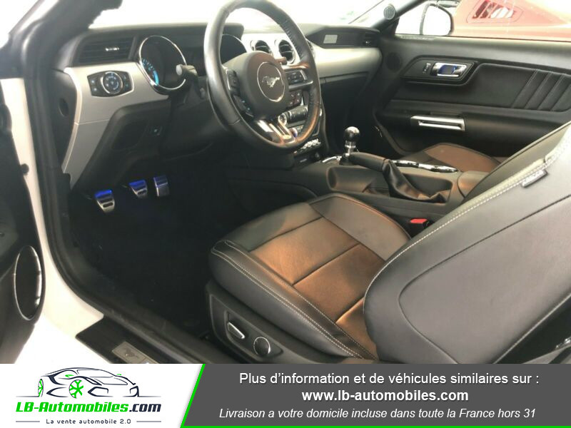 Ford Mustang 2.3 EcoBoost Blanc occasion à Beaupuy - photo n°4