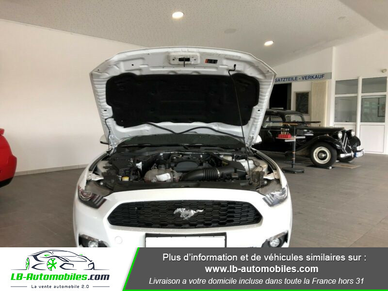 Ford Mustang 2.3 EcoBoost Blanc occasion à Beaupuy - photo n°7