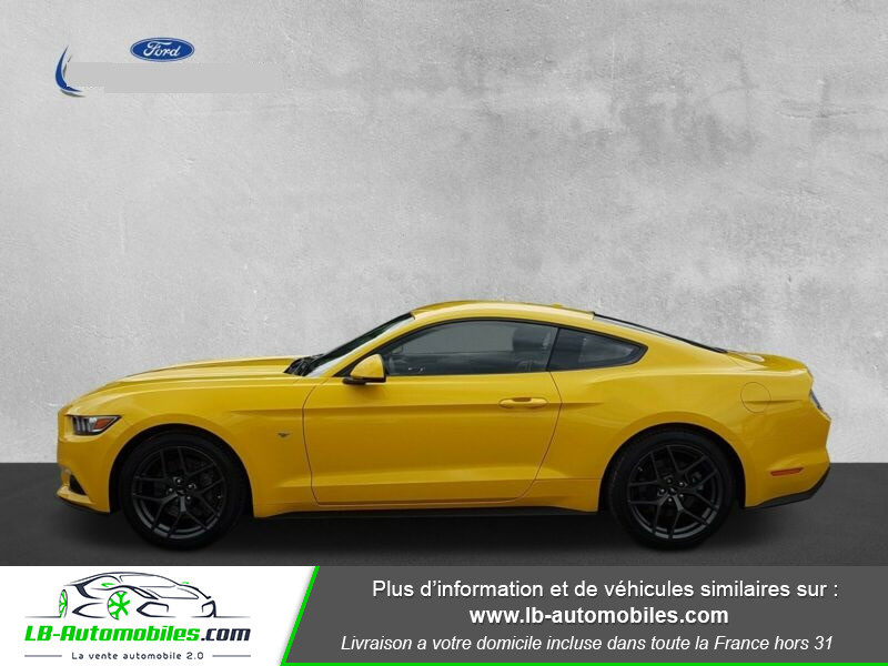 Ford Mustang 2.3 EcoBoost Jaune occasion à Beaupuy - photo n°6