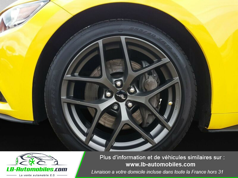 Ford Mustang 2.3 EcoBoost Jaune occasion à Beaupuy - photo n°7