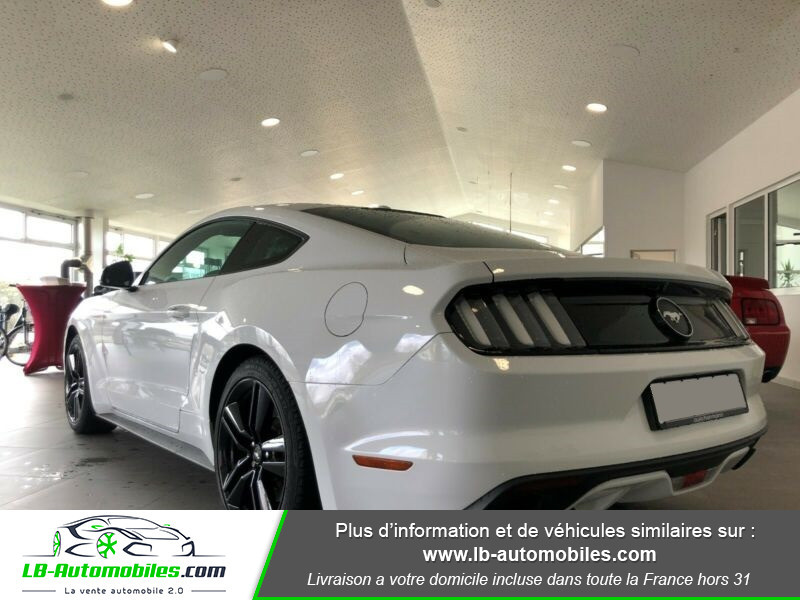 Ford Mustang 2.3 EcoBoost Blanc occasion à Beaupuy - photo n°8