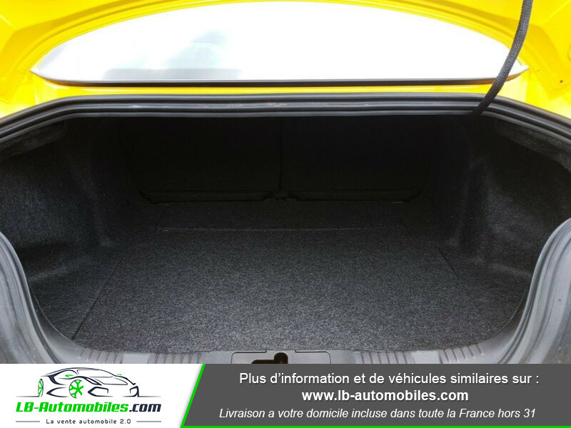 Ford Mustang 2.3 EcoBoost Jaune occasion à Beaupuy - photo n°5