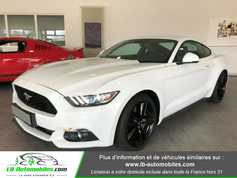 Ford Mustang 2.3 EcoBoost Blanc occasion à Beaupuy