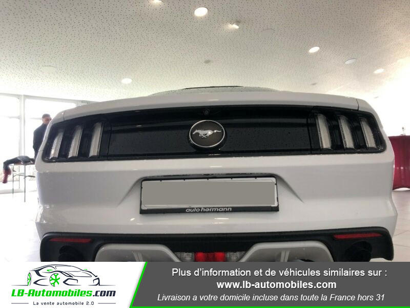 Ford Mustang 2.3 EcoBoost Blanc occasion à Beaupuy - photo n°9