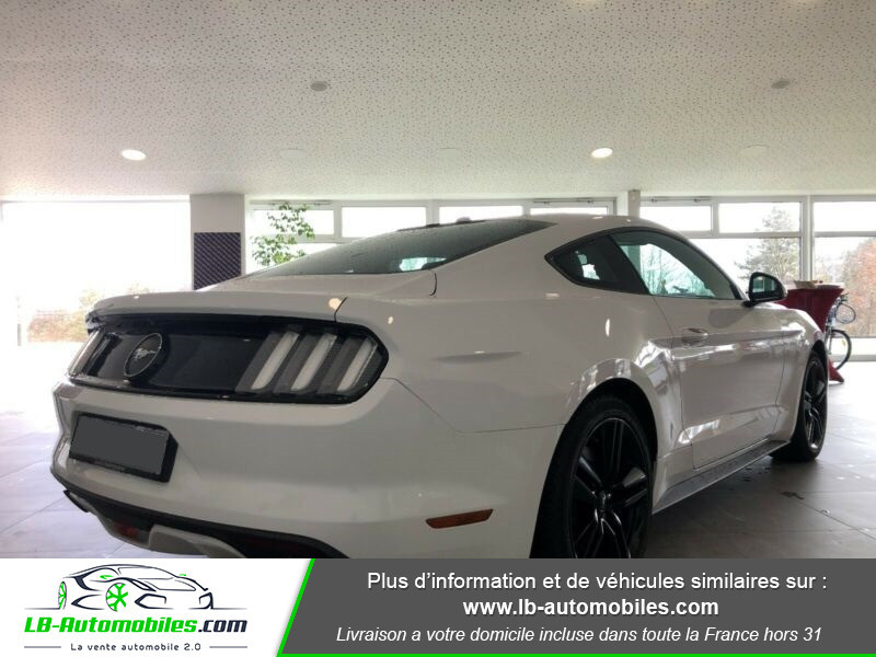 Ford Mustang 2.3 EcoBoost Blanc occasion à Beaupuy - photo n°3