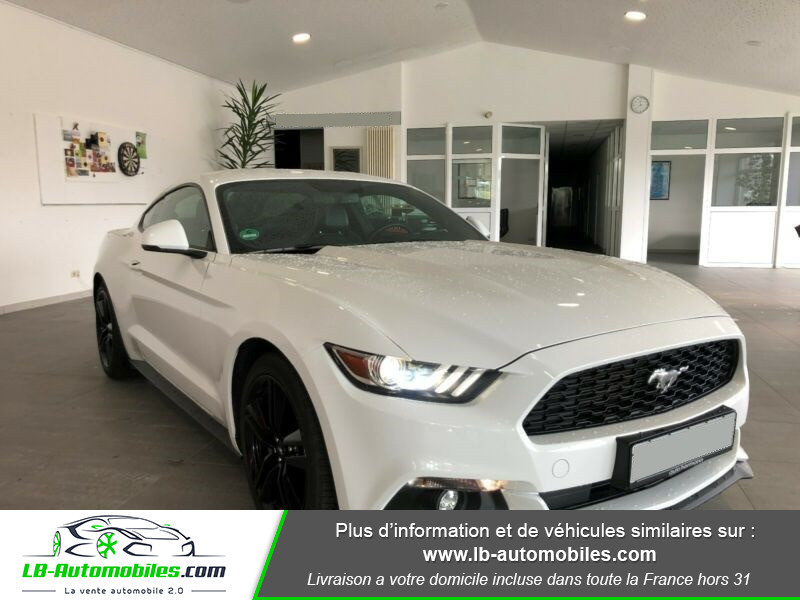 Ford Mustang 2.3 EcoBoost Blanc occasion à Beaupuy - photo n°10