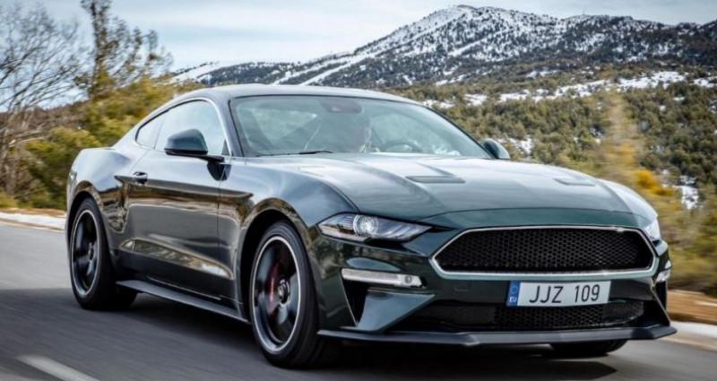 Ford Mustang 5.0 l v8 bullitt bvm6 Vert occasion à PONTAULT COMBAULT