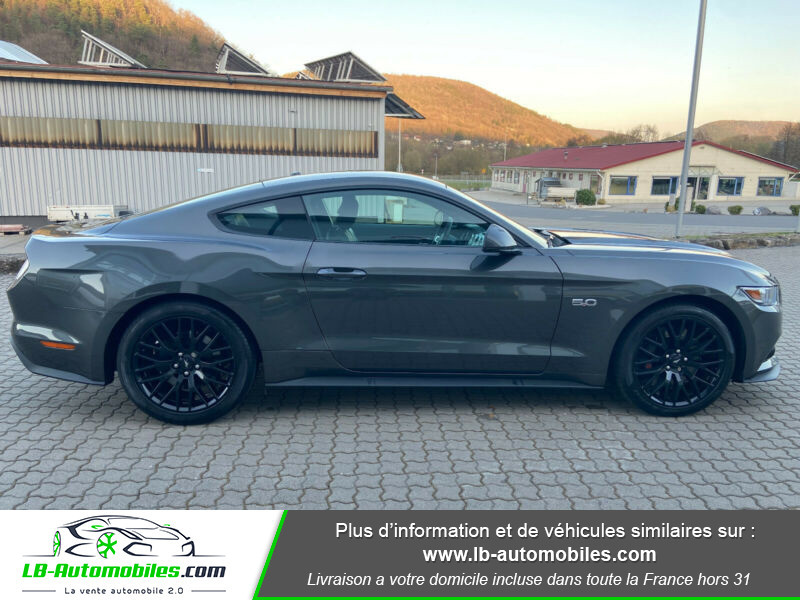 Ford Mustang 5.0 V8 GT Gris occasion à Beaupuy - photo n°5