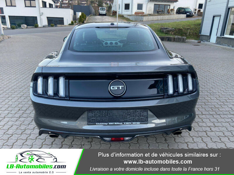 Ford Mustang 5.0 V8 GT Gris occasion à Beaupuy - photo n°6