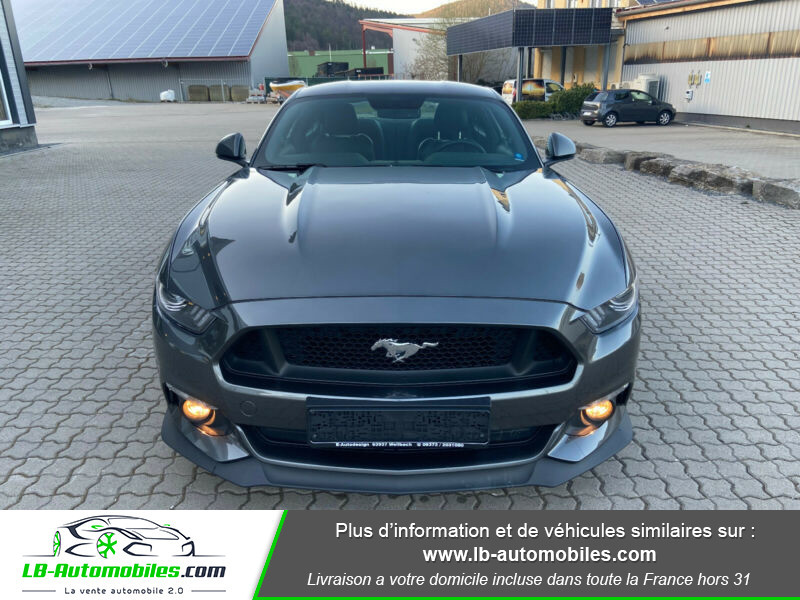 Ford Mustang 5.0 V8 GT Gris occasion à Beaupuy - photo n°4