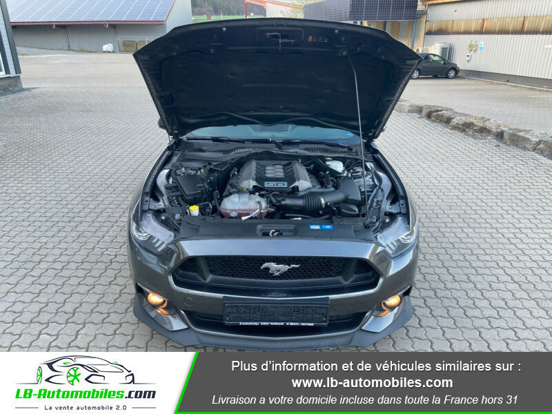 Ford Mustang 5.0 V8 GT Gris occasion à Beaupuy - photo n°17