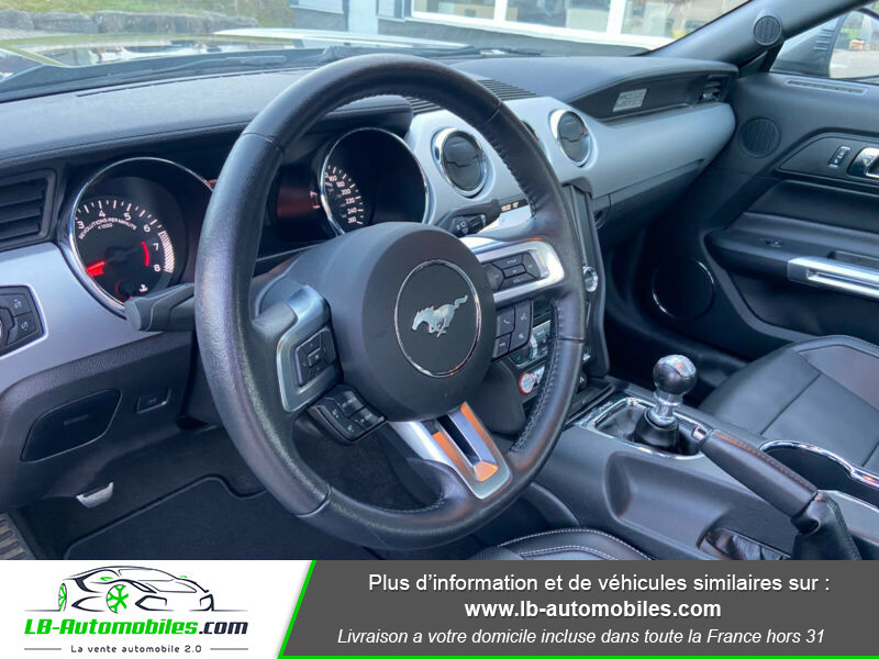 Ford Mustang 5.0 V8 GT Gris occasion à Beaupuy - photo n°12