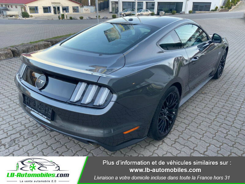 Ford Mustang 5.0 V8 GT Gris occasion à Beaupuy - photo n°3