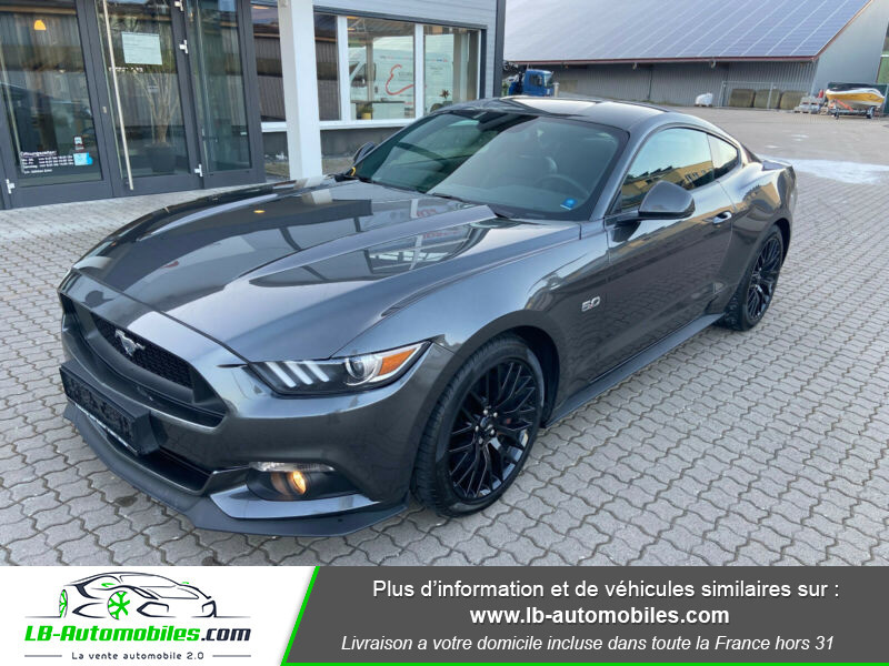 Ford Mustang 5.0 V8 GT Gris occasion à Beaupuy - photo n°7