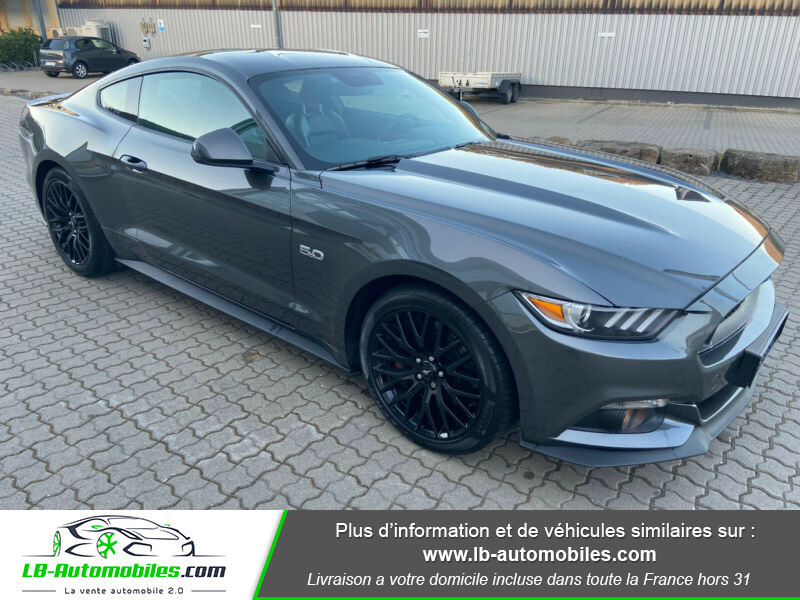 Ford Mustang 5.0 V8 GT Gris occasion à Beaupuy