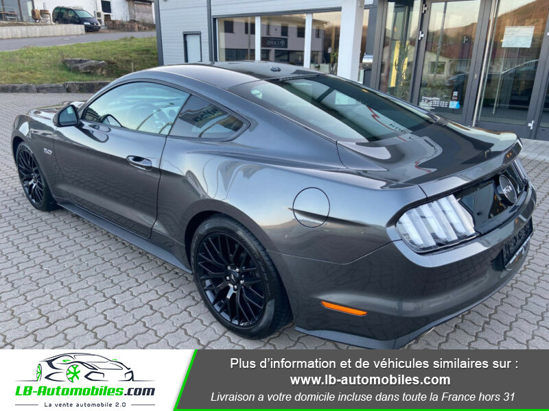 Ford Mustang 5.0 V8 GT Gris occasion à Beaupuy - photo n°8