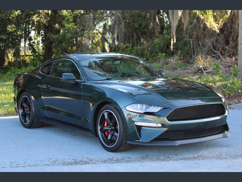 Ford Mustang BULLITT 2019 Vert occasion à Montgeron